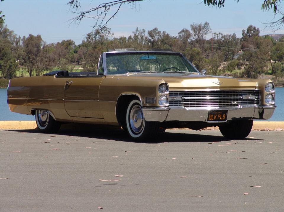 Precious Metals | 1966 Cadillac DeVille Convertible