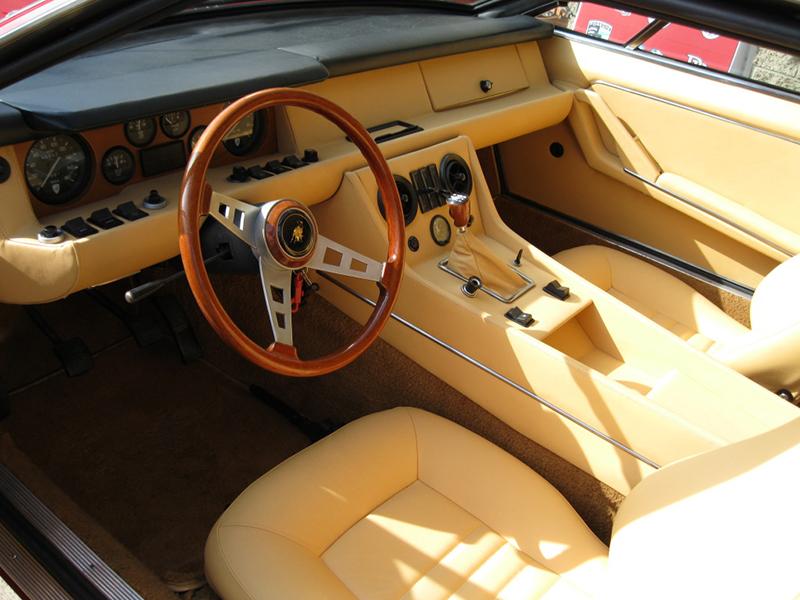 Precious Metals 1972 Lamborghini Jarama Gt Dual Sunroof