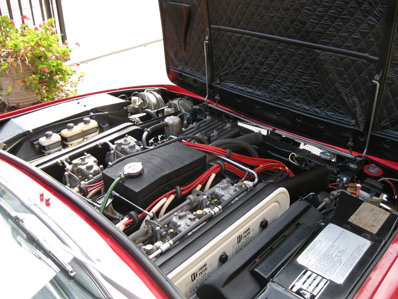 Lamborghini Jarama Interior 1972 Lamborghini Jarama