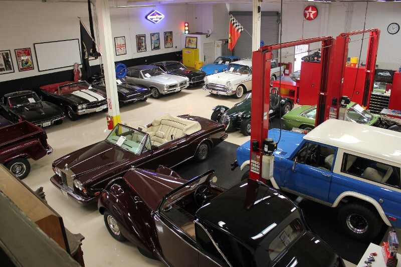Collection of classic cars consigned for sale