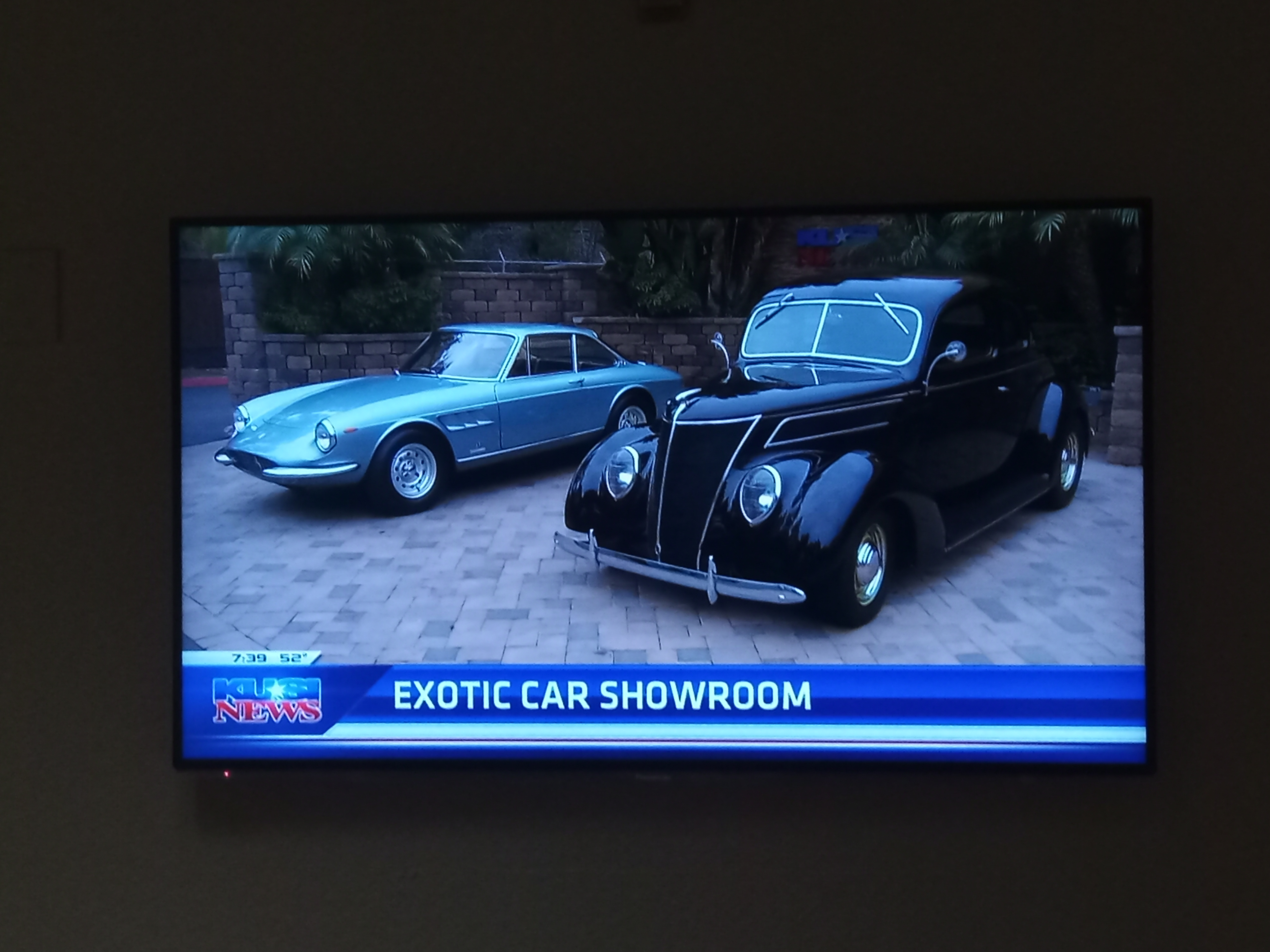 Two exotic cars featured on KUSI News