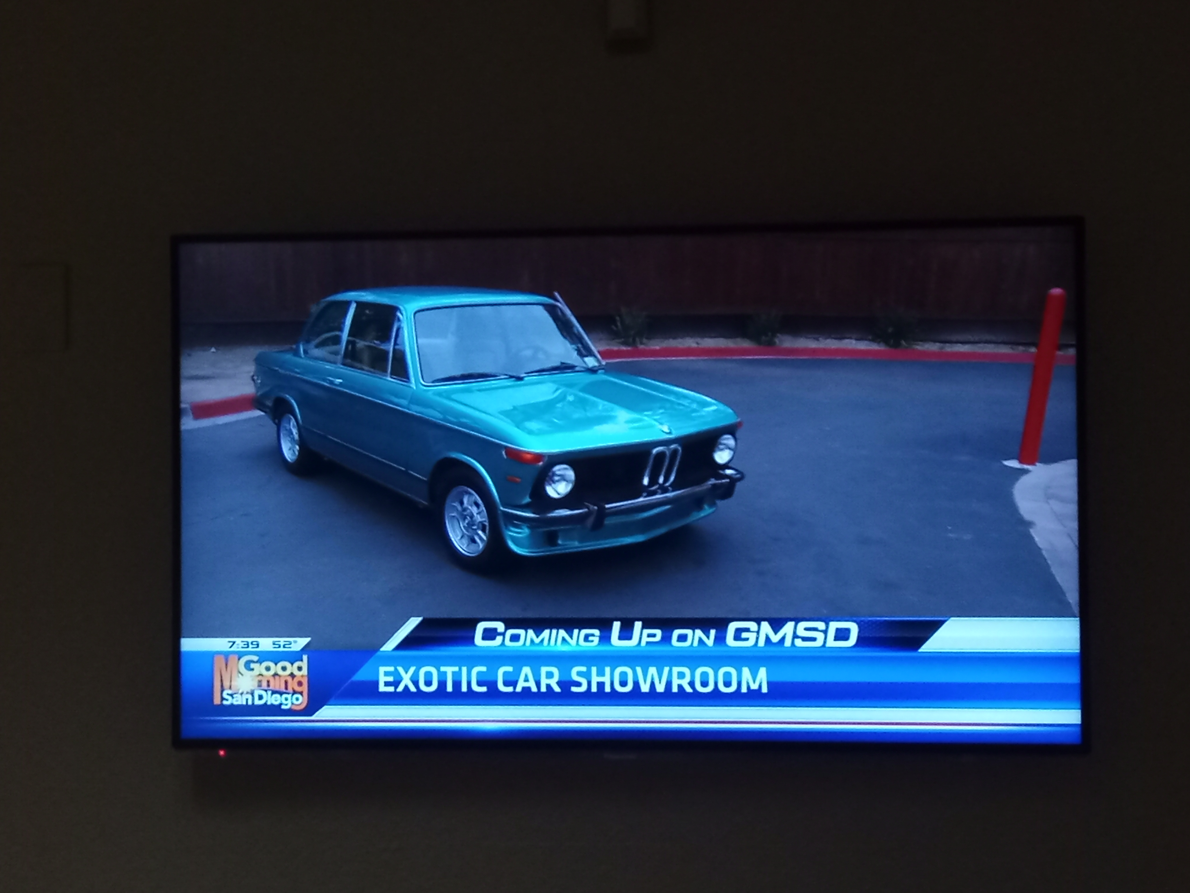 Exotic car featured on KUSI News