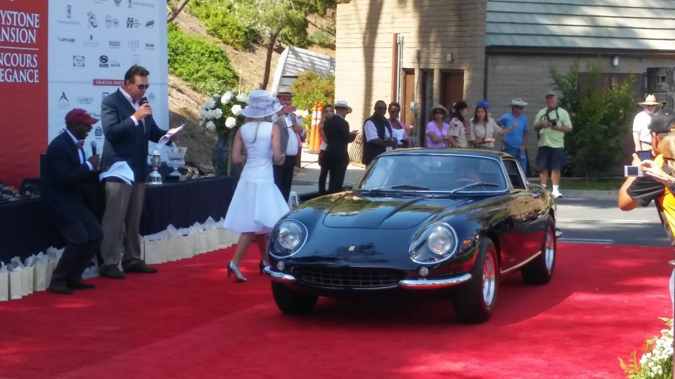 2016 Graystone Concours at Doheny Mansion