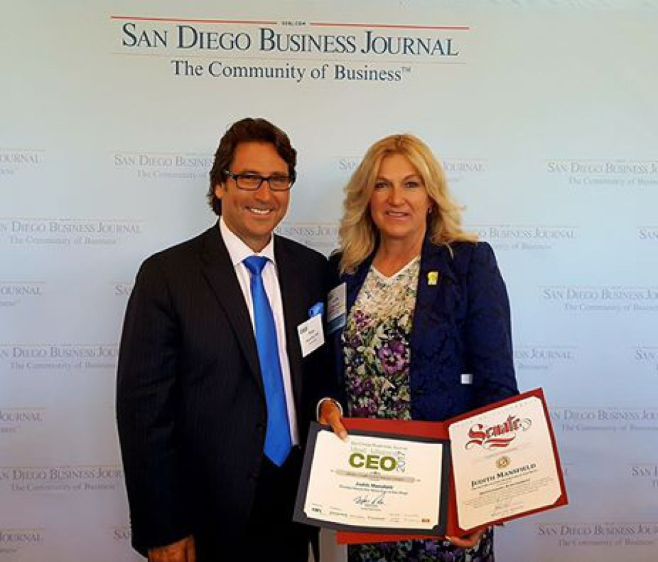 San Diego Business Journal Most Admired CEO Award