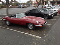 Cars and Coffee in the E-Type