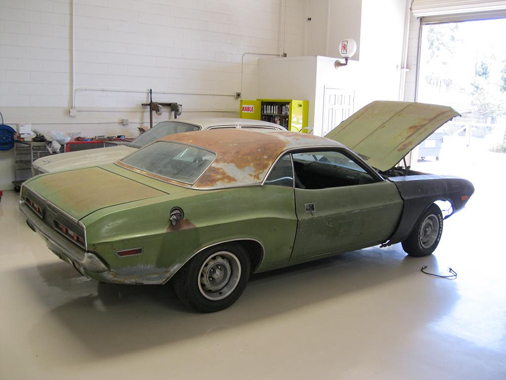 Precious Metals: 1971 Dodge Challenger